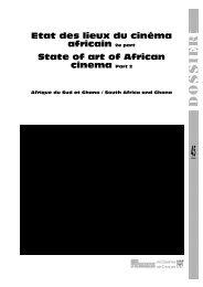 Afrique du Sud : la responsabilité d'une nation / South ... - Africultures
