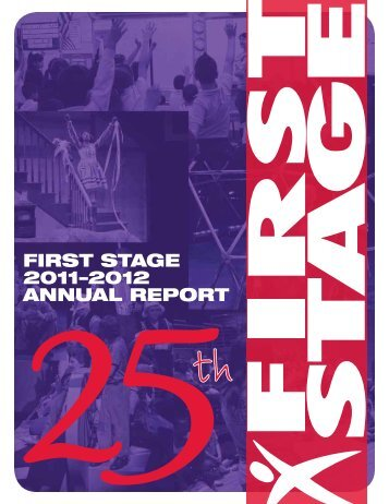 2011-2012 Annual Report - First Stage