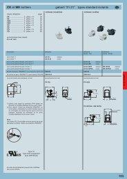 "CK et MK boîtiers gabarit ""21.21"" types standard isolants 153 - Ilme"