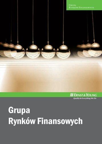 Grupa Rynków Finansowych - Ernst & Young