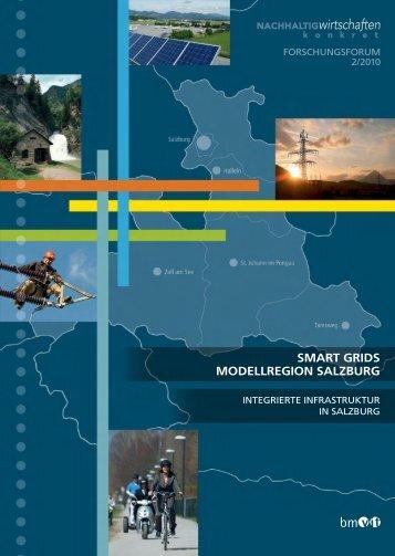 Forschungsforum BMVIT 2-2010 (deutsch) - Smart Grids