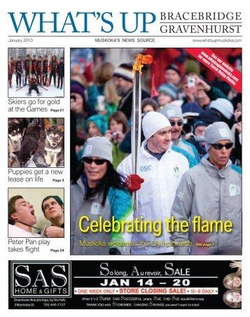 What's Up Bracebridge Gravenhurst January 2010