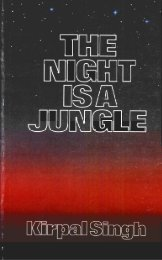 The Night is a Jungle - Kirpal Singh