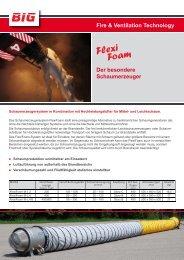 BIG FlexiFoam Schaumerzeuger - Feuerwehr-Magazin