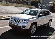 Prospekt Jeep Compass - Lehmann Automobile