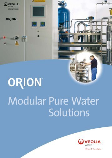 Modular Pure Water Solutions - Veolia Water Solutions ...