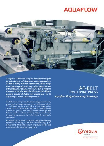 AF-BELT - Veolia Water Solutions & Technologies