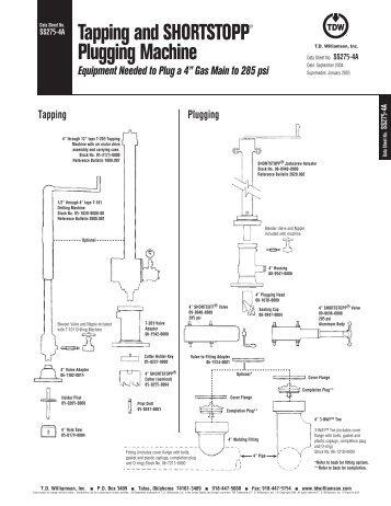 SHORTSTOPP® 275 4A Data Sheet - T.D. Williamson, Inc.