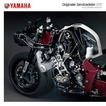 Originale Servicedeler 2011 - Yamaha Motor Europe