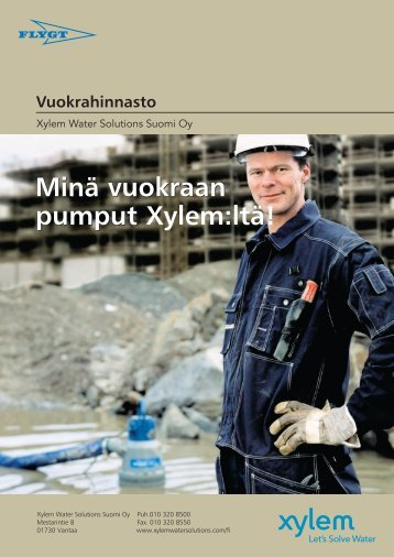 Minä vuokraan pumput Minä vuokraan pumput - Water Solutions
