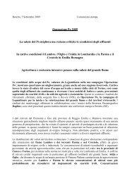 Operazione Po 2009 - Legambiente Lombardia