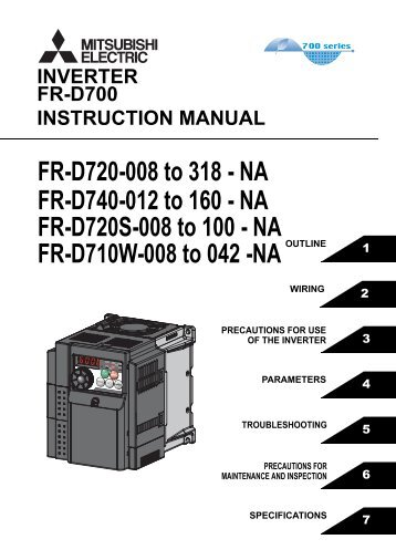 download the mitsubishi s500 vfd instruction manual mro stop rh yumpu com Bissell PowerSteamer User Manual Operators Manual