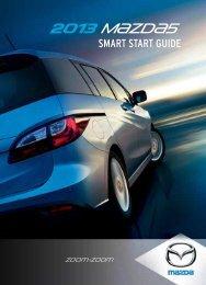 2013 Smart Start Guide - Mazda