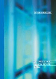 aastaaruanne annual report aastaaruanne annual ... - Harju Elekter
