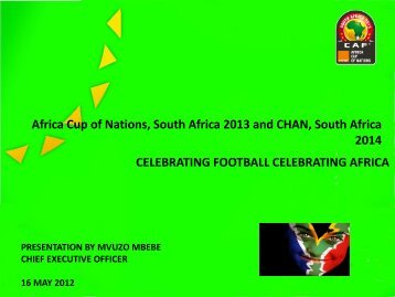 Africa Cup of Nations, South Africa 2013 and - South African ...