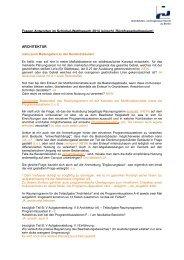 Fragen Antworten im Schinkel-Wettbewerb 2014 ... - AIV Architekten