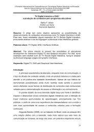 26 TV Digital Interativa e EAD: a produção de ... - Lantec - Unicamp