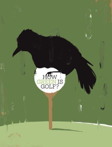 How green is golf? - Golf Digest
