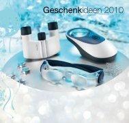 Weihnachtsprospekt - Optik Freise