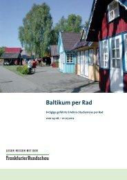 Baltikum per Rad - Frankfurter Rundschau