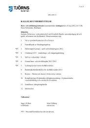 Barn- och utbildningsnämndens kallelse 2012-05-23 - Tjörns kommun