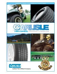 Carlisle Tire & Wheel Company - Carlisle Transportation Products