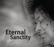 Eternal Sanctity (pdf) - International Sri Sathya Sai Organization