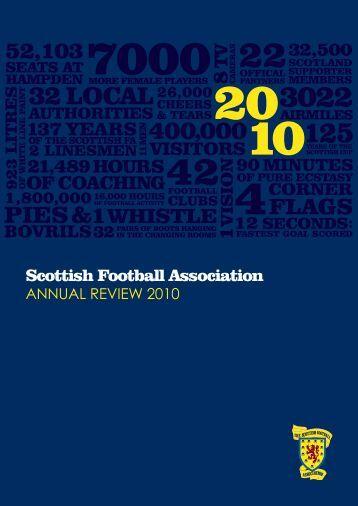 2010 Annual report - Scottish Football Association