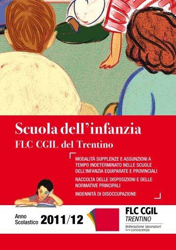 Scuola dell'infanzia - CGIL del Trentino