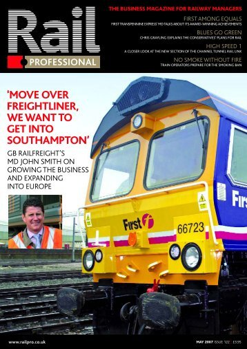 move over freightliner, we want to get into ... - Rail Professional