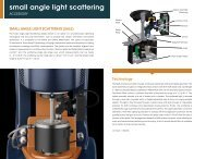 small angle light scattering - TA Instruments