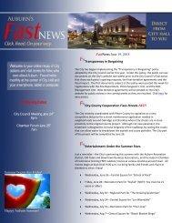 June 19, 2013 - City of Auburn