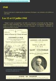 1940 Les 12 et 13 juillet 1941 - L'association des Amis de Saint ...