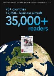 media information, rates & data - European Business Air News