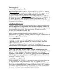 Zwischenprüfung! Deutsch 301, Herbstsemester 2011 Merken Sie ...