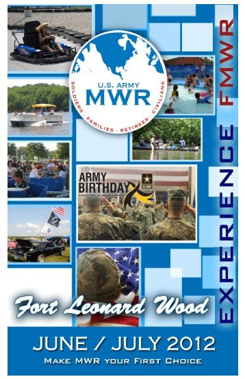 July 4th, 7:30pm Gammon Field - MWR Fort Leonard Wood