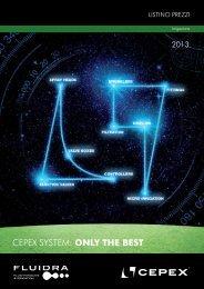 2013 Listino Irrigazione - (PDF: 4200 KB / 68 pagine) - Cepex