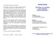 """GRAND ROUND """"Die Rolle von Levodopa in der modernen ... - Klinik"""