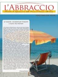 Le vacanze, occasione per rinascere a nuova vita interiore