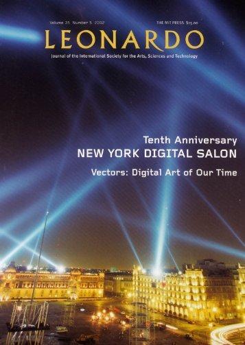 Leonardo Magazine - VinylVideo