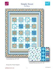 Simply Sweet - Quilting Treasures