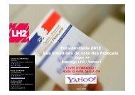 Présidentielle 2012 Les intentions de vote des Français