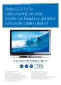 Dahili uydu alıcılı Beko LCD ve LED TV alana Şampiyonlar Paketi ... - Page 5