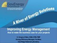 Improving Energy Management with Commissioning - GovEnergy