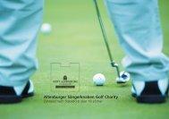 9. Altenburger Sängerknaben Golf Charity