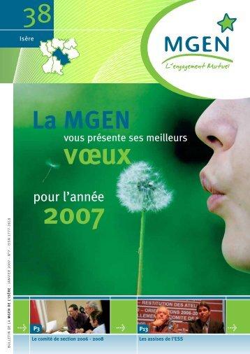 Fondée en 1986 à Grenoble, Aide Médicale et ... - Mgen