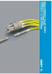 minia t ure f7 contact for multi & hybrid fibre optic connectors