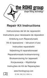 Repair Kit Instructions