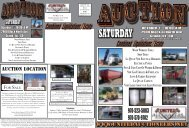 Auction 10-1-2011 - United Auctioneers