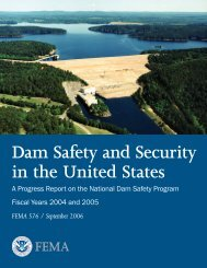 Dam Safety and Security in the United States - Homeland Security ...